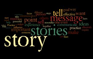 Training with Stories