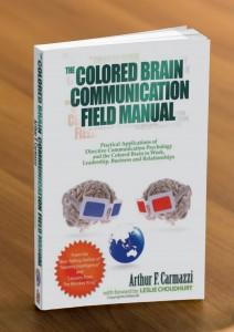 Colored Brain Communication Filed Manual Mockup