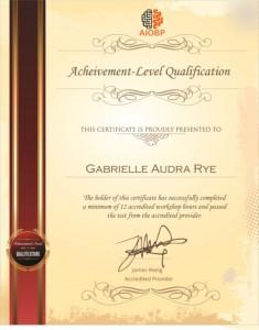 AIOBP Certificate