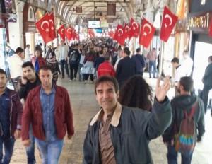 Arthur Carmazzi in Istanbul