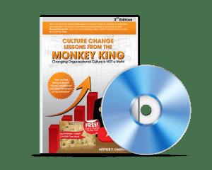 Organizational culture change monkey king Audio E-Book