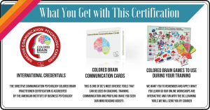 colored brain practitioner certification Training Tool