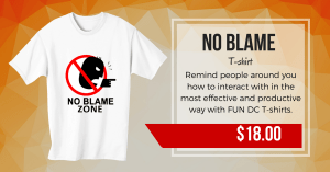 No Blame T-shirt