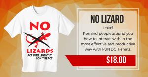 No Lizard T-shirt