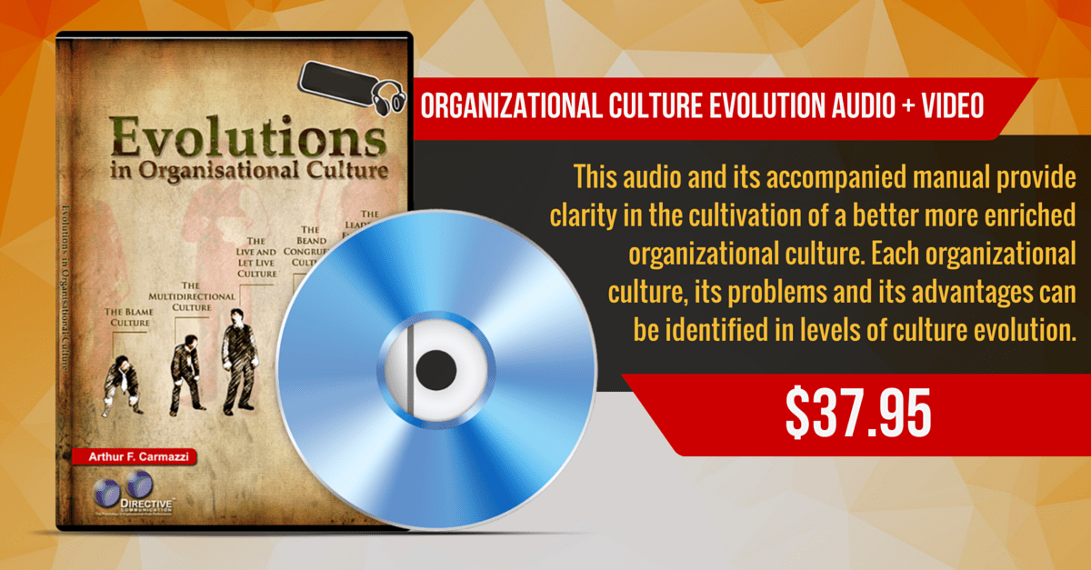 Organizational Culture Evolution Audio-Video