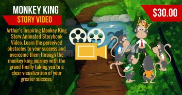 Monkey King Animated Story Video
