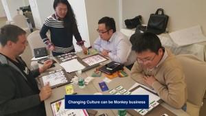 Organizational Culture Change Monkey Business