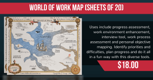 world of work map
