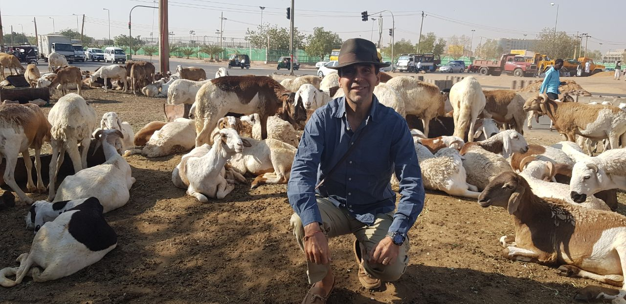 Arthur Carmazzi in Sudan