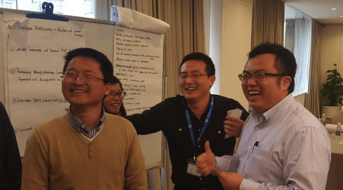 What happened at the Organizational Culture Change Initiative for DENZA, Shenzhen, China?